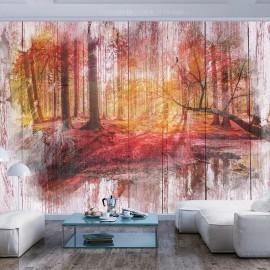 Papel de parede autocolante - Autumnal Forest