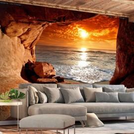 Papel de parede autocolante - Exit from the Cave
