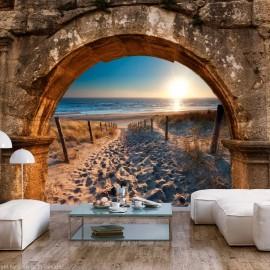 Papel de parede autocolante - Arch and Beach