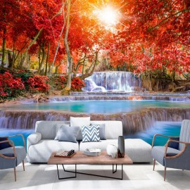 Papel de parede autocolante - Nature's Magic