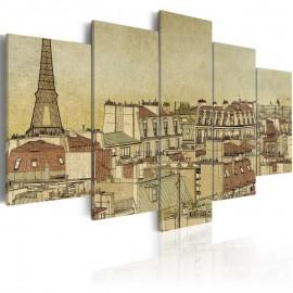 Quadro - Parisian past centuries