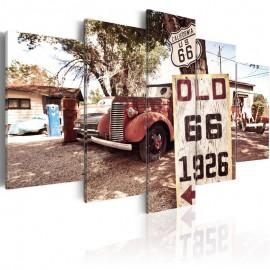 Cuadro - California - vintage style