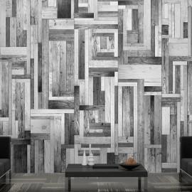 Fotomural - Gray labyrinth