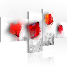 Quadro - Sentimental poppies