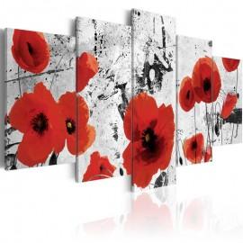 Quadro - Scarlet flowers