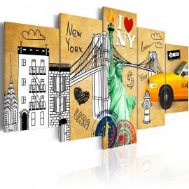 Cuadro - Por amor a Nueva York