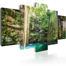 Quadro - Waterfall of Trees