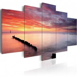 Quadro - Play of colors at the sea