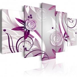 Cuadro - Rosas violetas