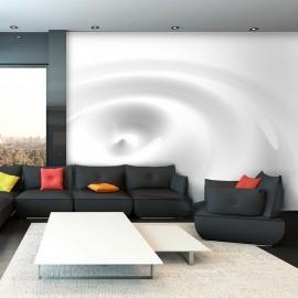 Fotomural - White Swirl