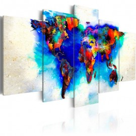 Quadro - All colors of the world