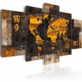 Cuadro - Golden Paths