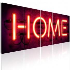 Quadro - Home Neon