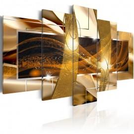 Quadro - Golden Lava