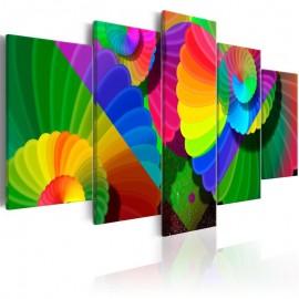 Quadro - Twisted Colours