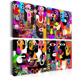 Quadro - Abstract Conversations