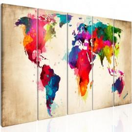 Quadro - Bright Continents