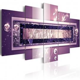 Cuadro - Cascada de púrpura