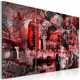 Cuadro - Londres roja