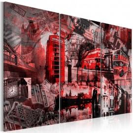 Quadro - Red Londres