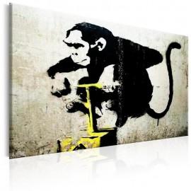 Quadro - Monkey Detonator by Banksy