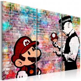 Cuadro - Rainbow Brick (Banksy)