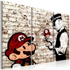 Quadro - Mario Bros: Torn Wall