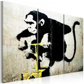Cuadro - Monkey TNT Detonator by Banksy
