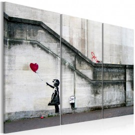 Quadro - Girl With a Balloon by Banksy