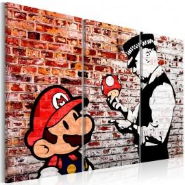 Quadro - Mural on Brick