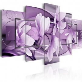 Cuadro - Purple Wave