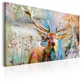 Quadro - Deer on Wood