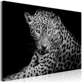Quadro - Leopard Portrait (1 Part) Wide
