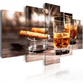 Cuadro - Puro y whisky