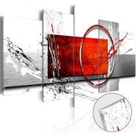 Quadro acrílico - Wintry Expression [Glass]