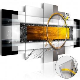Quadro acrílico - Golden Shot [Glass]
