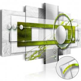 Quadro acrílico - Green Energy [Glass]