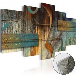Quadro acrílico - Exotic Note [Glass]