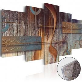 Quadro acrílico - Oriental Composition [Glass]