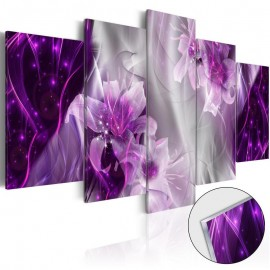Quadro acrílico - Purple Utopia [Glass]