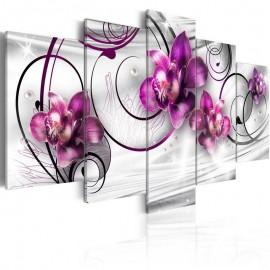 Cuadro - Orquídeas y perlas