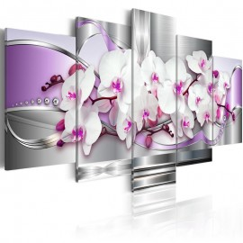 Quadro - Orquídea e fantasia