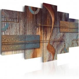 Quadro - Oriental Composition