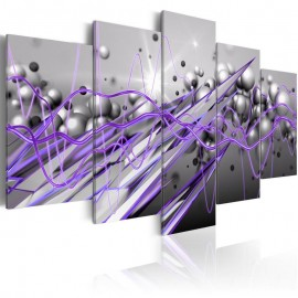 Cuadro - Purple Strike
