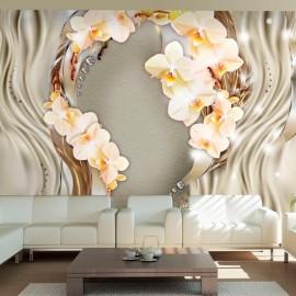 Fotomural - Corona de orquídeas