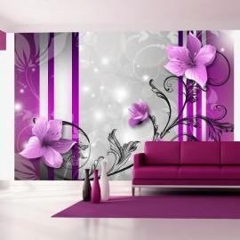 Fotomural - Brotes violetas