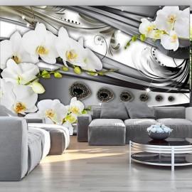Fotomural - Orquídeas & joyería