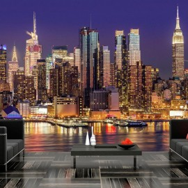 Fotomural - NYC: Night City