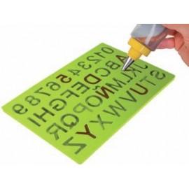 Molde letras y numeros