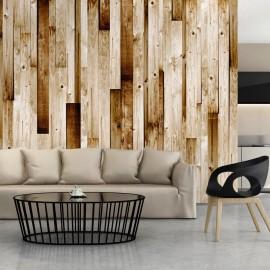 Fotomural - Wooden boards